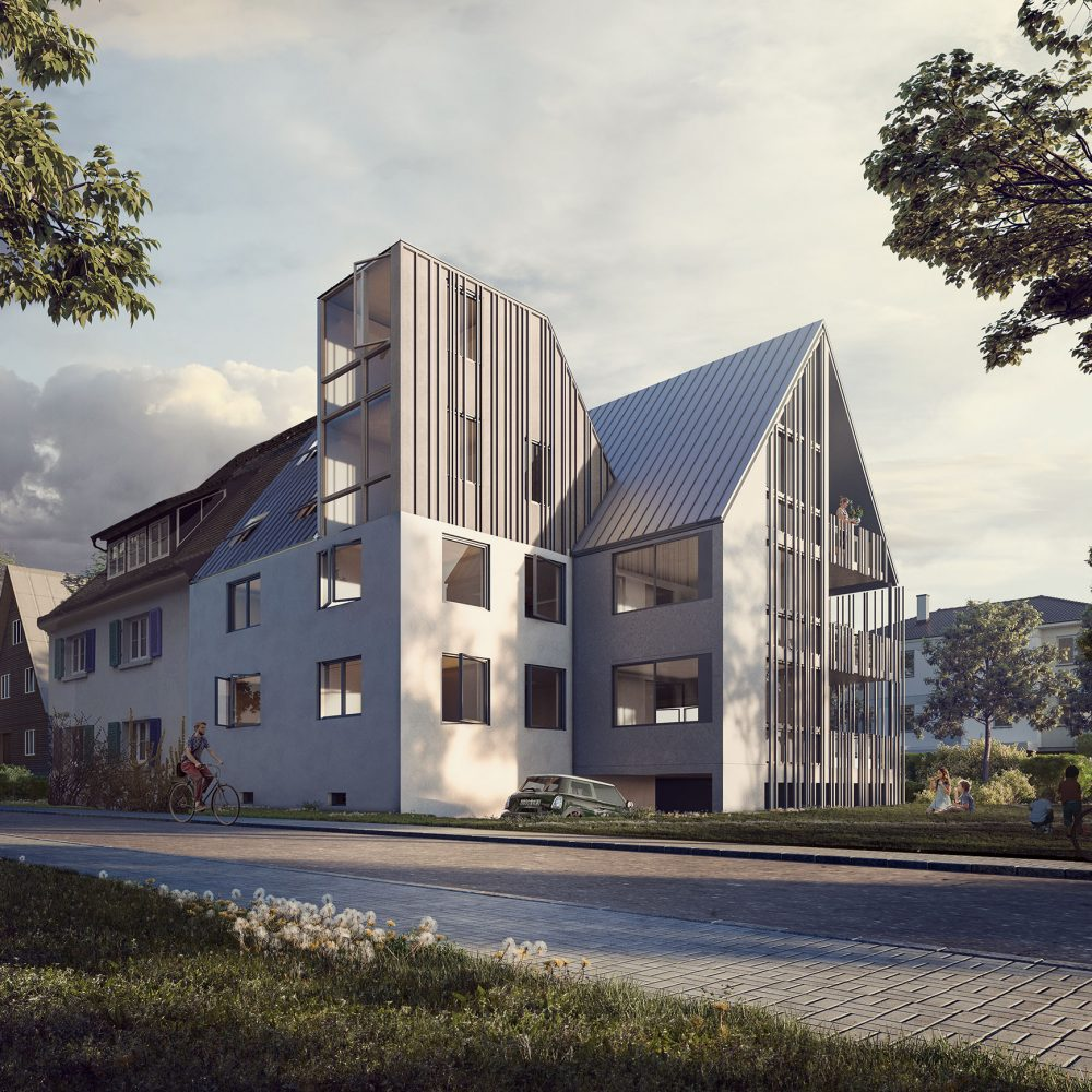 Multifamily house_Quatre Caps_Architectural Visualization