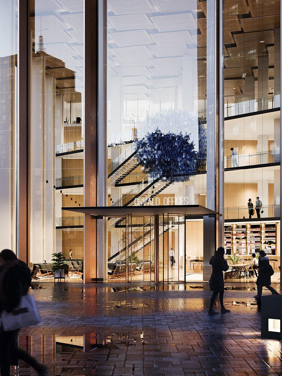 Quatre Caps_Atrium exterior