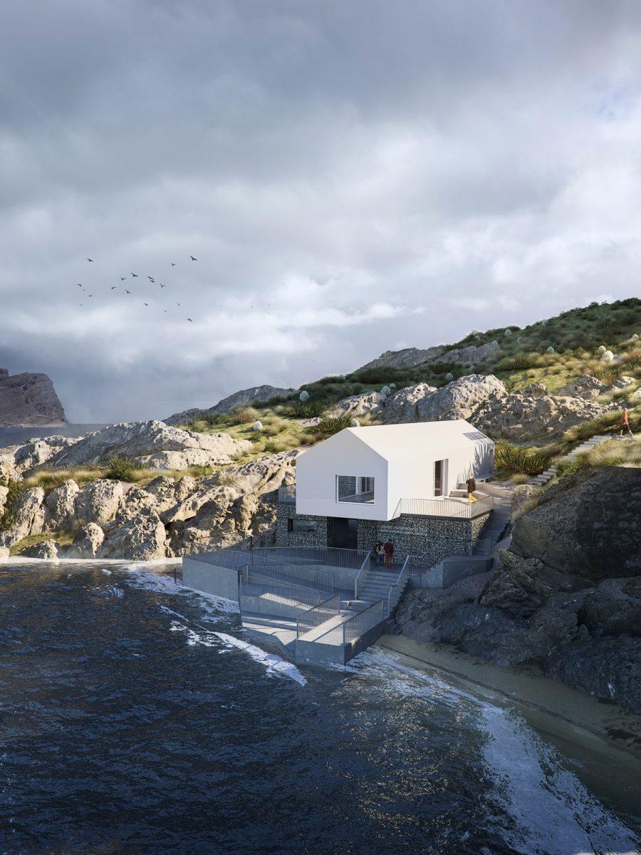 Render-Quatre Caps-Balma arquitectos
